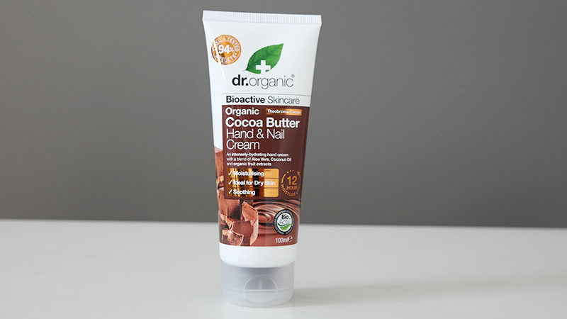 Dr Organic biologische Cocoa Butter hand nail cream