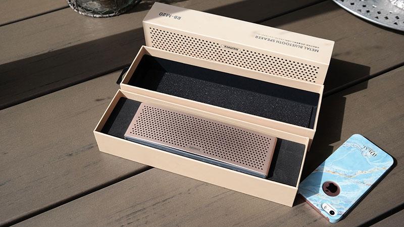 Draadloze Metalen Bluetooth HD Speaker