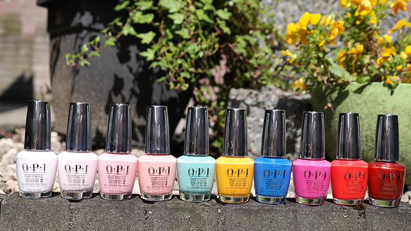 OPI Lisbon Collectie Spring/Summer 2018 review Swatches