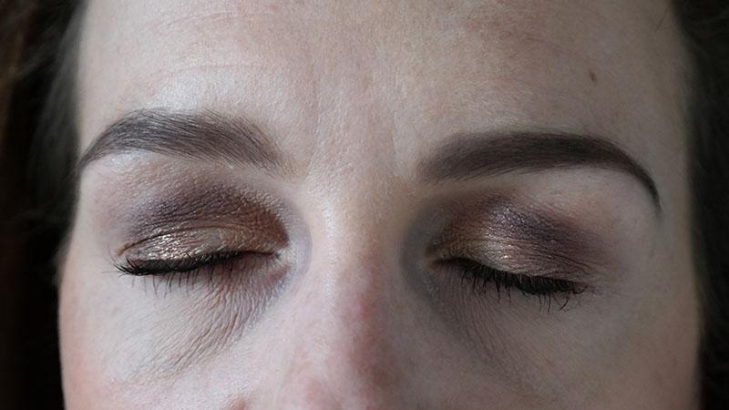 Rose Gold Bar Palette lottie londen finishing powder look