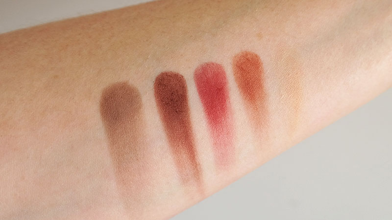 Rose Gold Bar Palette swatches