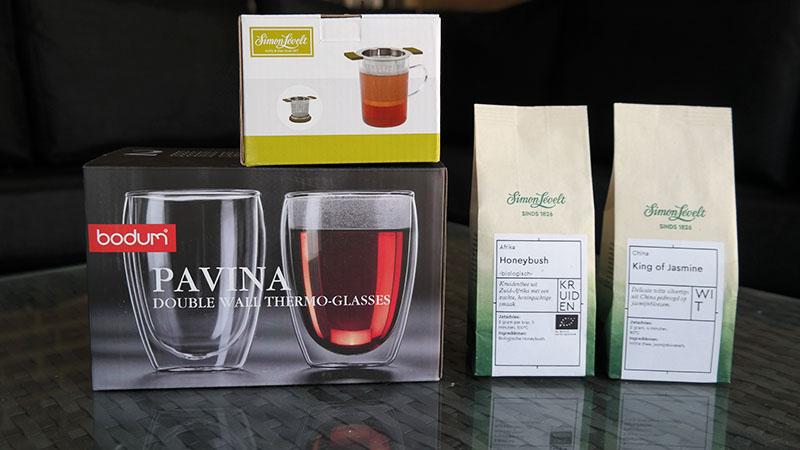 Mijn Simon Lévelt thee en accessoires bestelling