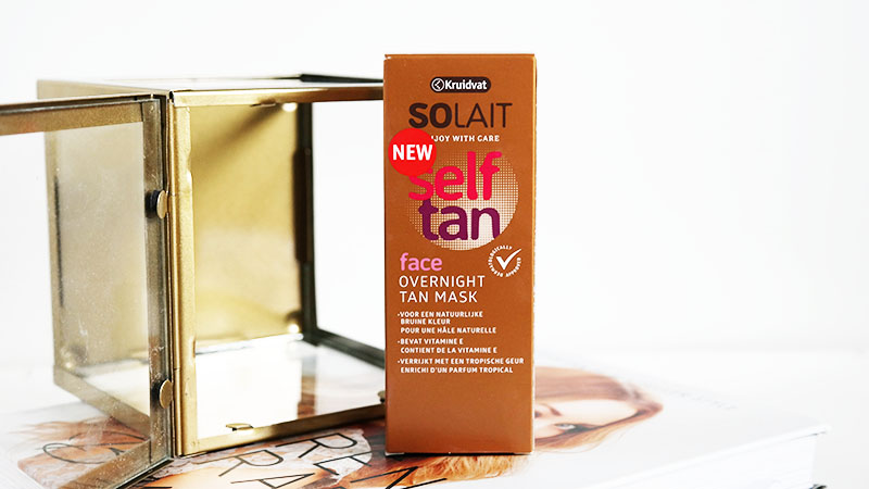 Kruidvat Solait Overnight Tan Mask