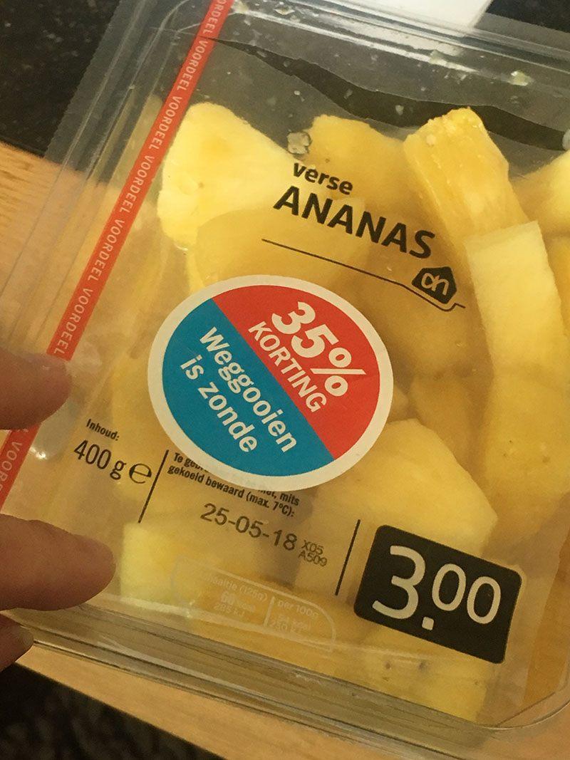 ananas eten
