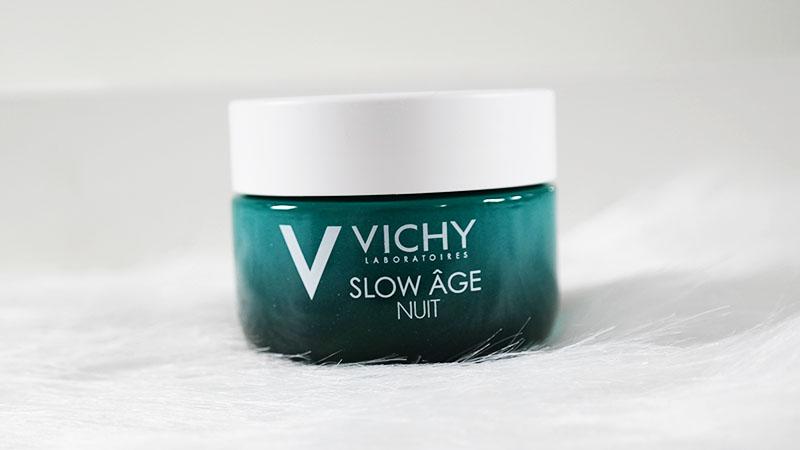 Vichy Slow Âge nachtcreme masker