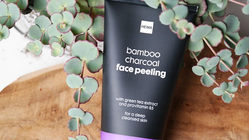Hema Bamboo Charcoal face peeling