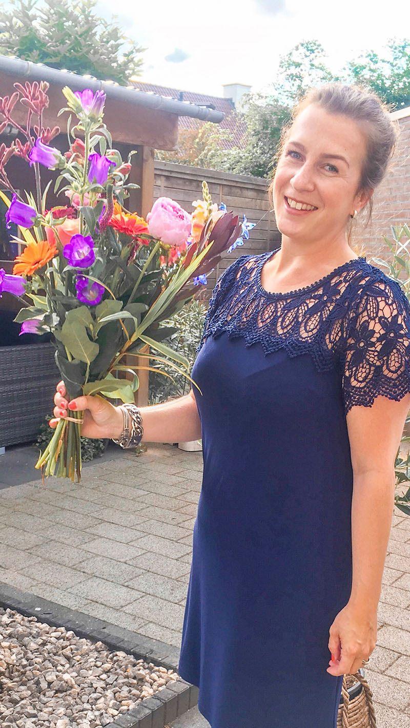bloemen nieuwe baan carrièreswitch