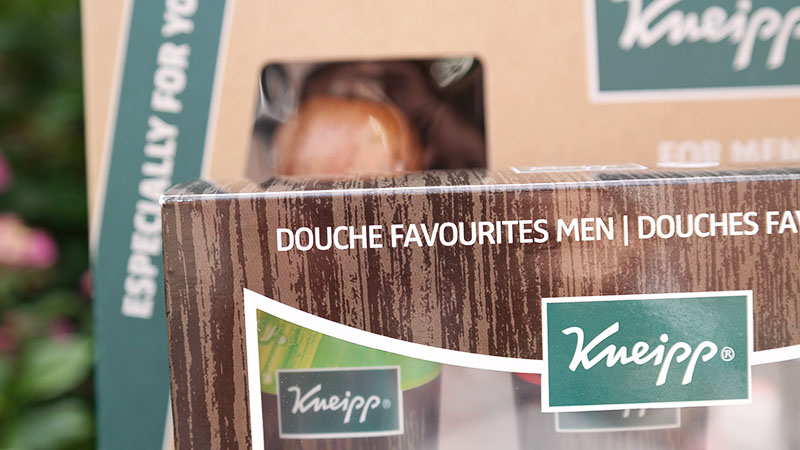 vaderdag kneipp douche favorites