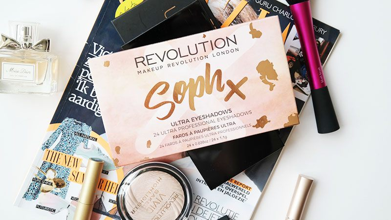 Makeup Revolution Soph Eyeshadow Palette review