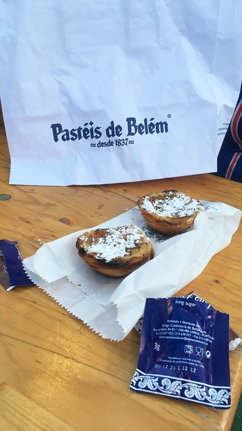 citytrip lissabon hotspots tips pasteum de belem
