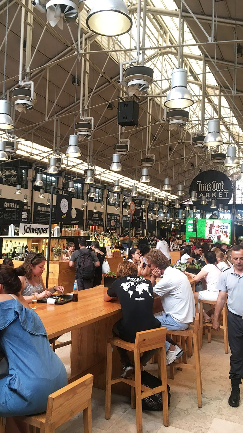citytrip lissabon time out market