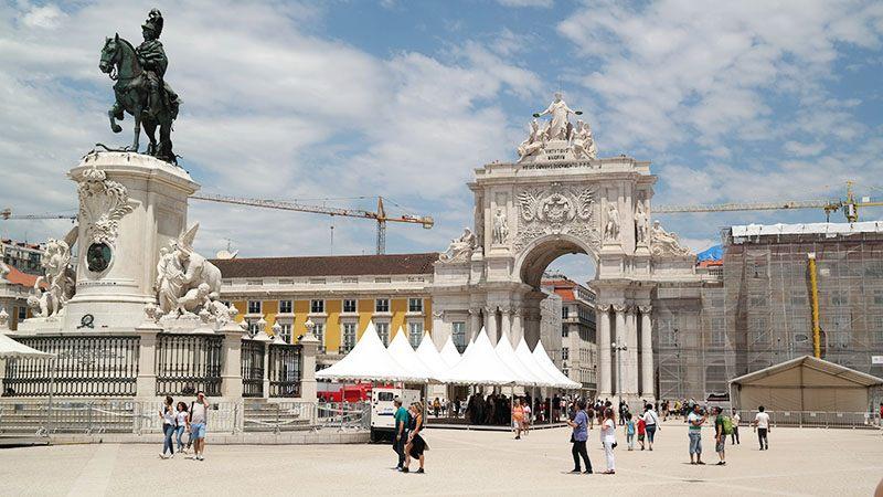 citytrip lissabon tips hotspot Praça do Comércio (Terreiro do Paço)