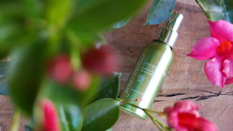 jane iredale lemongrass zomercollectie 2018 love hydration spray review