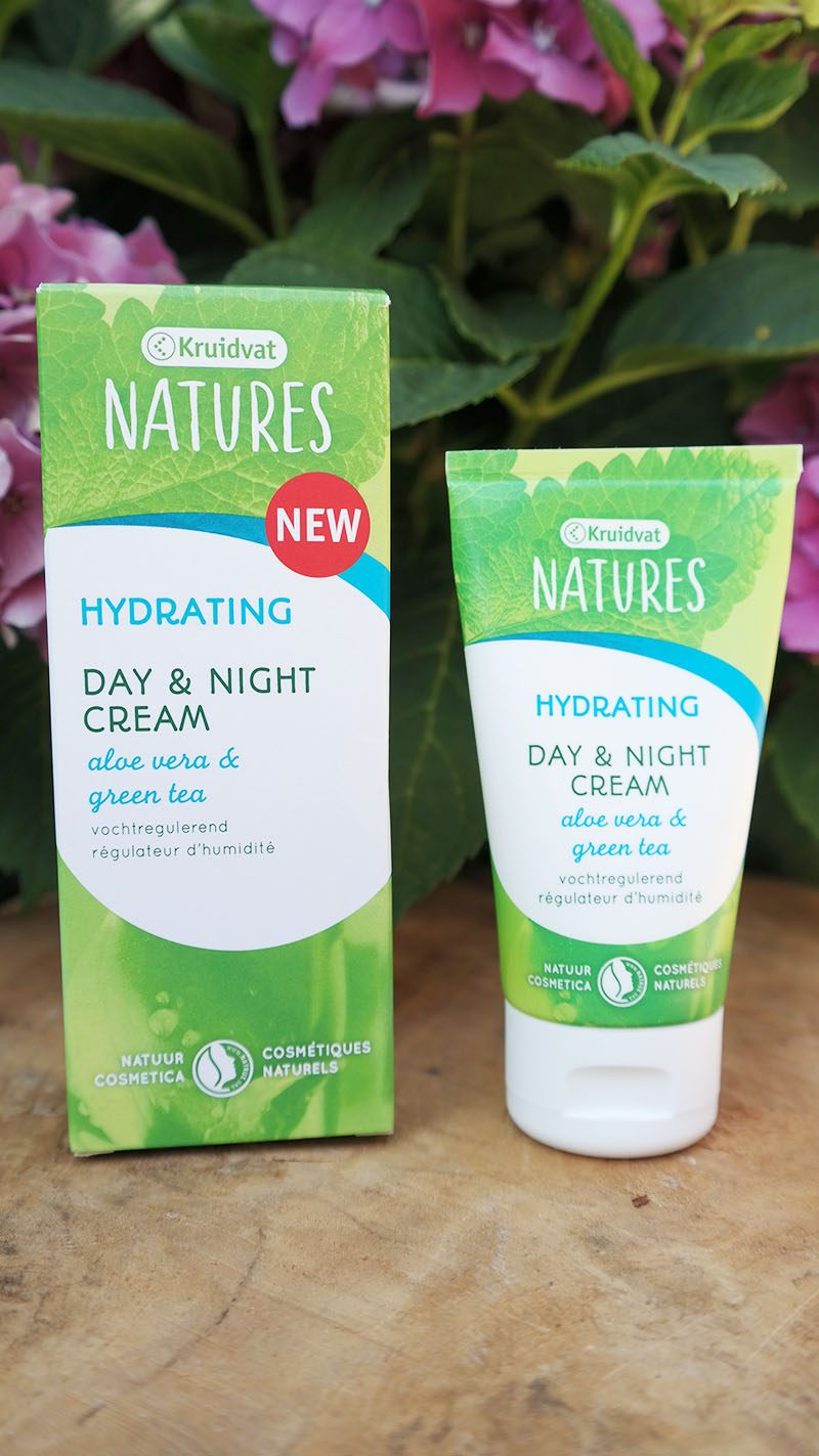 kruidvat natures hydrating day night cream