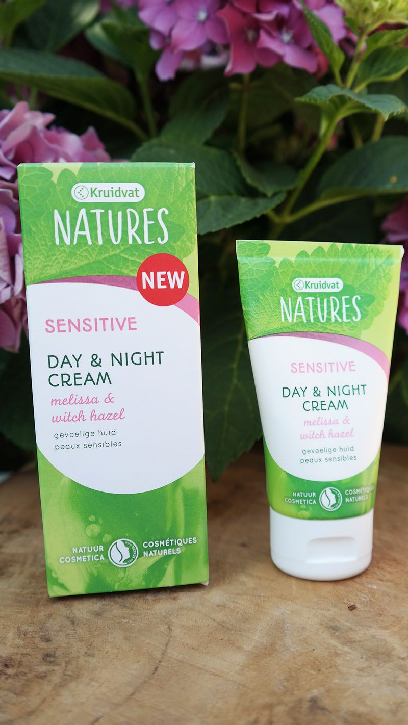 kruidvat natures sensitive day night cream