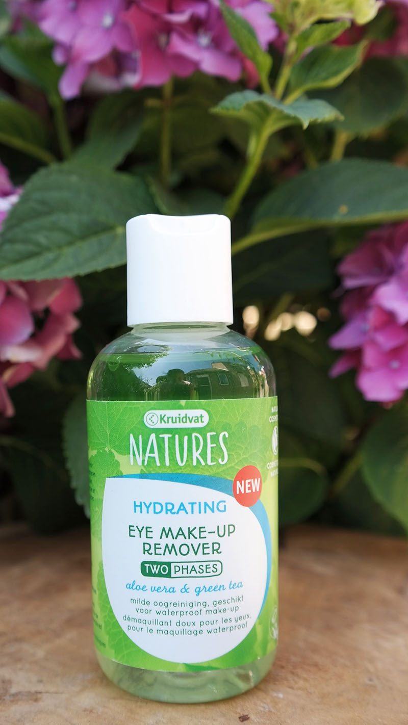 kruidvat natures skin care eye make-up remover