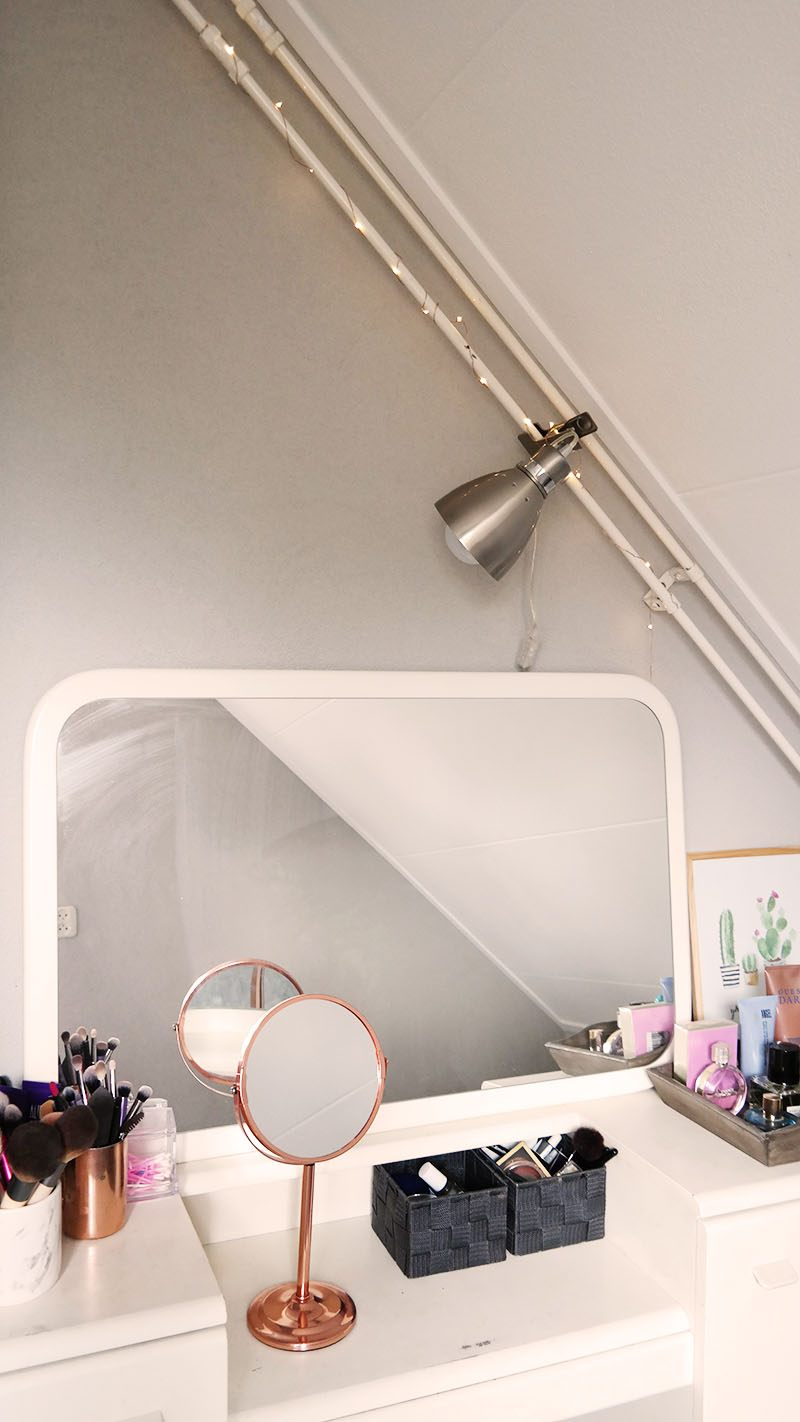 make-up kamer lampen industrieel klemlamp