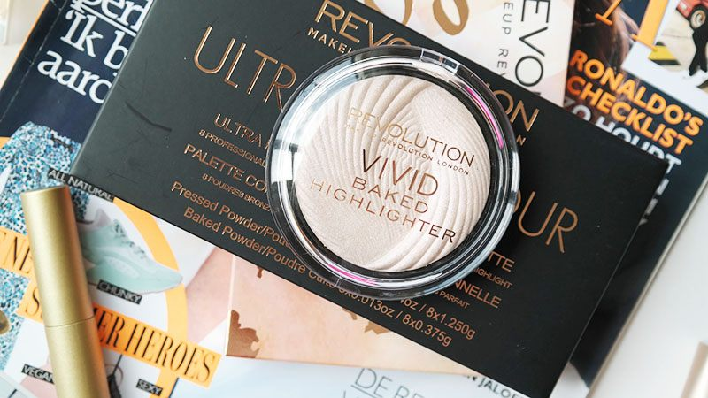 makeup revolution vivid baked highlighter peach lights review makeup