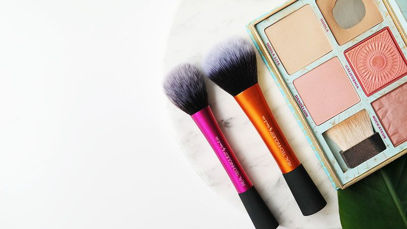 real techniques Powder Brush blush brush