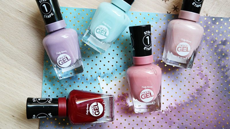 sally hansen summer collection review