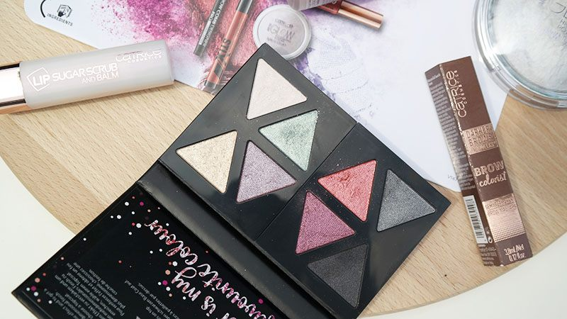 CatriceThe glitterizer mix n' match eyeshadow palette