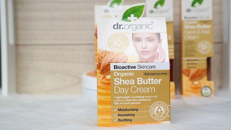 Dr. Organic shea butter day cream