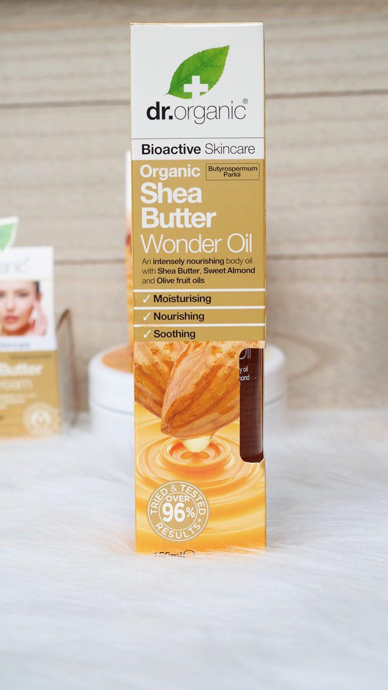 Dr. Organic shea butter wonder oil (2)