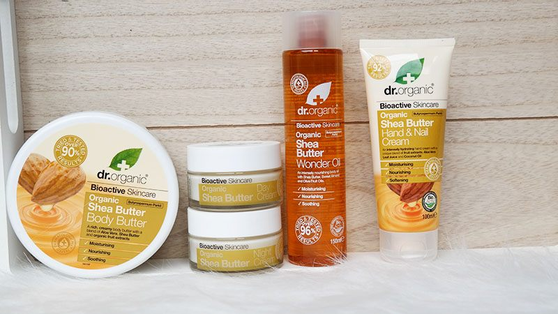 Dr. organic shea butter range review (2)