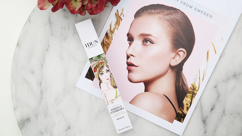 IDUN Minerals Eye Brow Gel medium review mieksmind