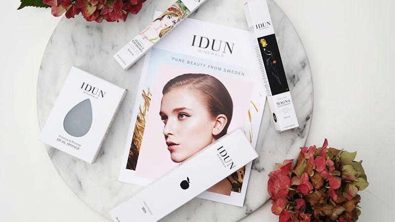 Nieuwe make-up van IDUN Minerals
