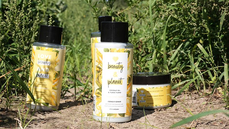 love beauty and planet Coconut Oil and Ylang Ylang conditioner