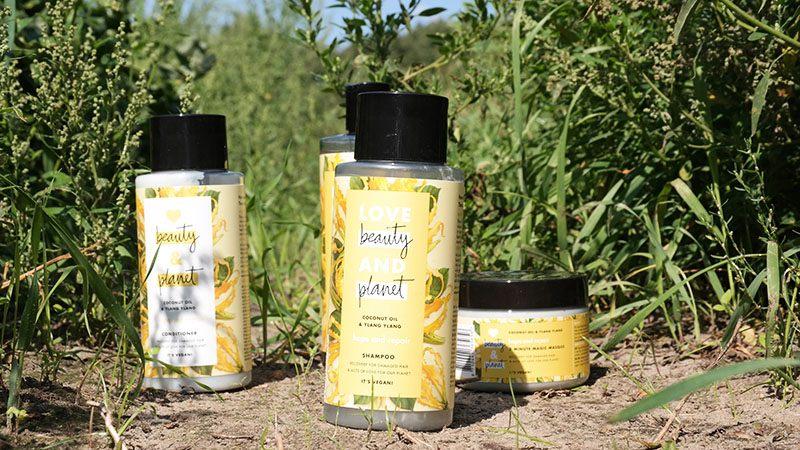 love beauty and planet Coconut Oil and Ylang Ylang shampoo