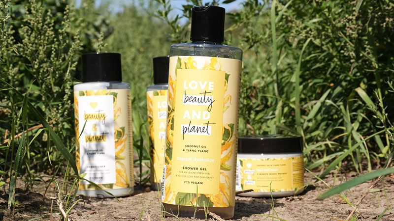 love beauty and planet Coconut Oil and Ylang Ylang shower gel