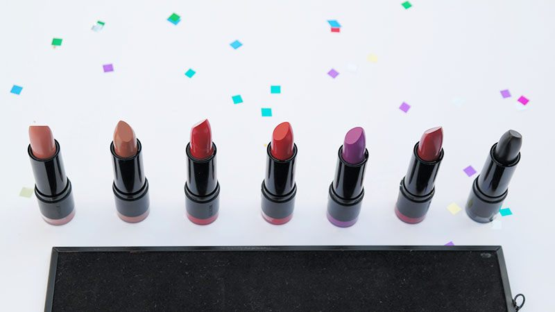 The Body Shop Colour Crush Lipstick collection review