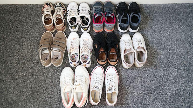 mijn sneaker verzameling