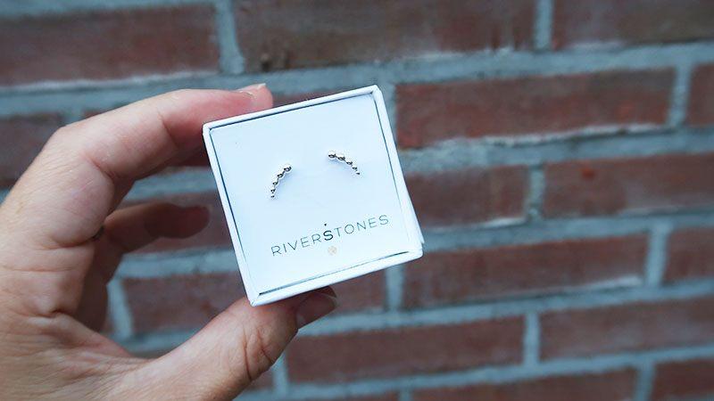 shoplog riverstones oorbellen