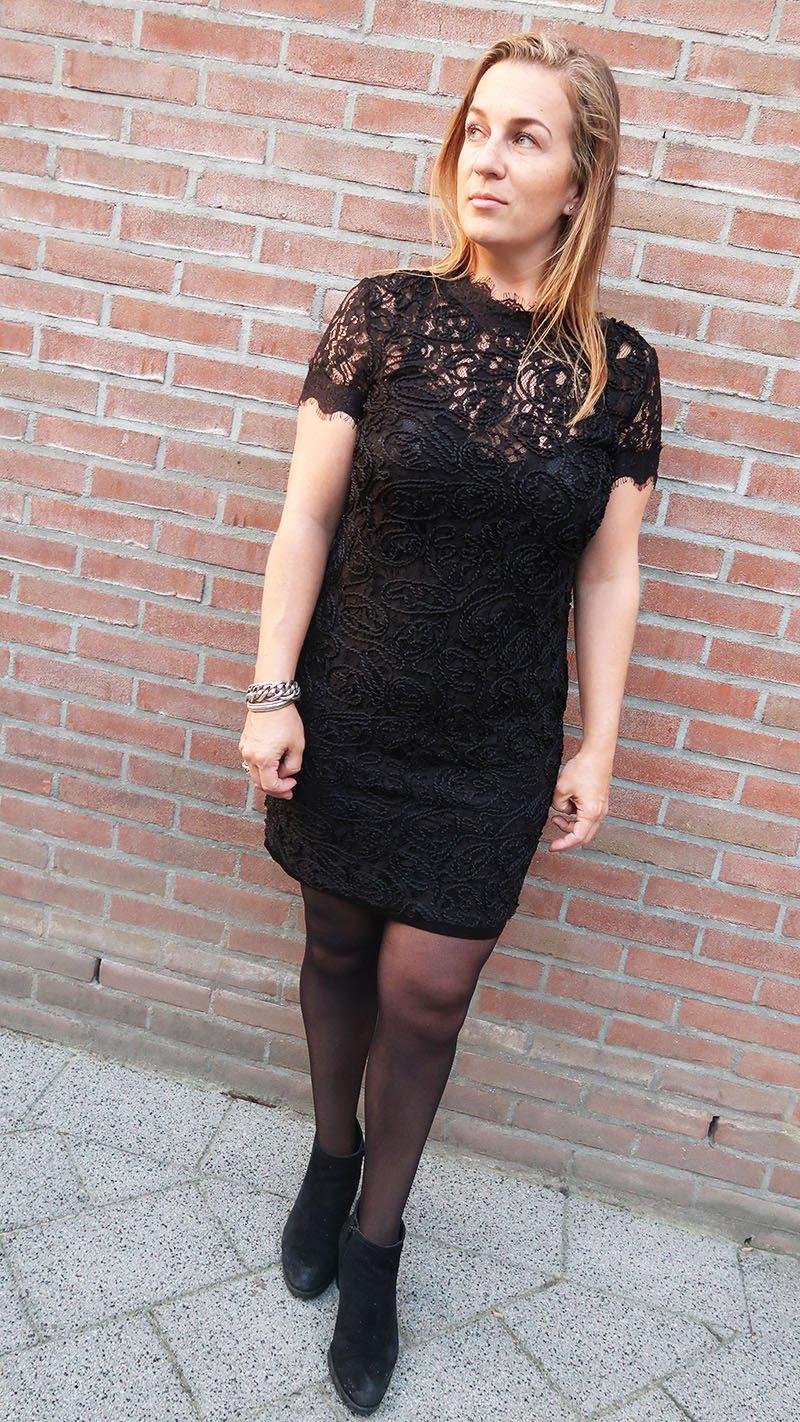 shoplog shoppen bij zara lace dress