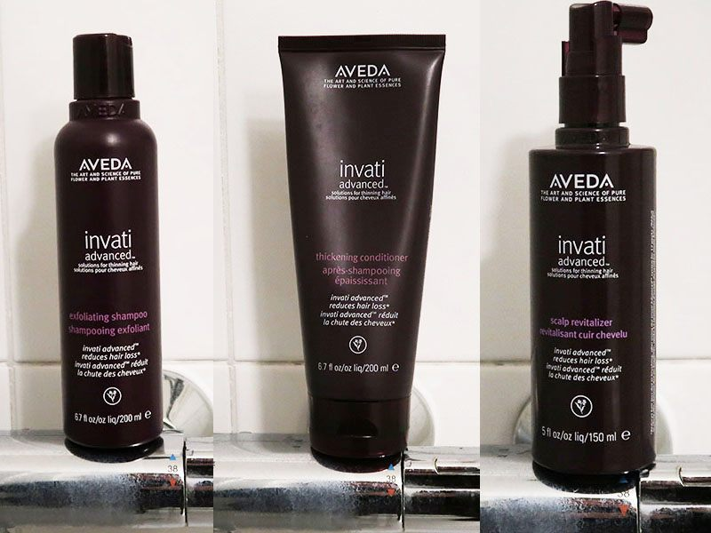 Aveda invati Advanced shampoo conditioner revitalizer