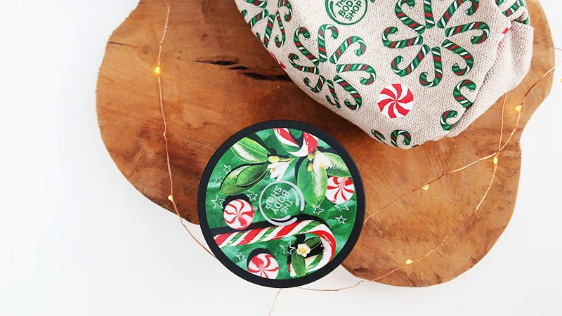The Body Shop Body Butter Peppermint Candy Cane
