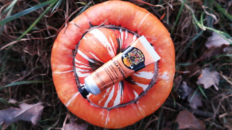 The Body Shop vanilla pumpkin handcream
