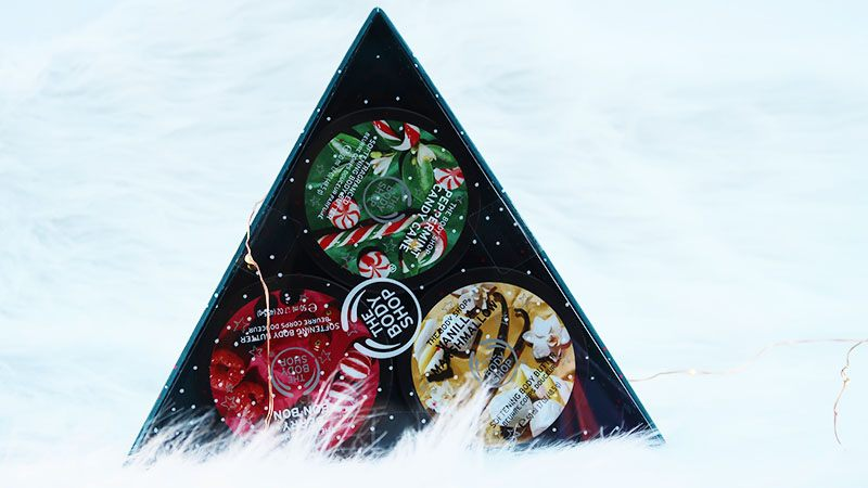 The body shop Festive Body Butter Trio