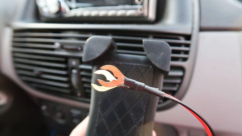 draadloze oplader auto