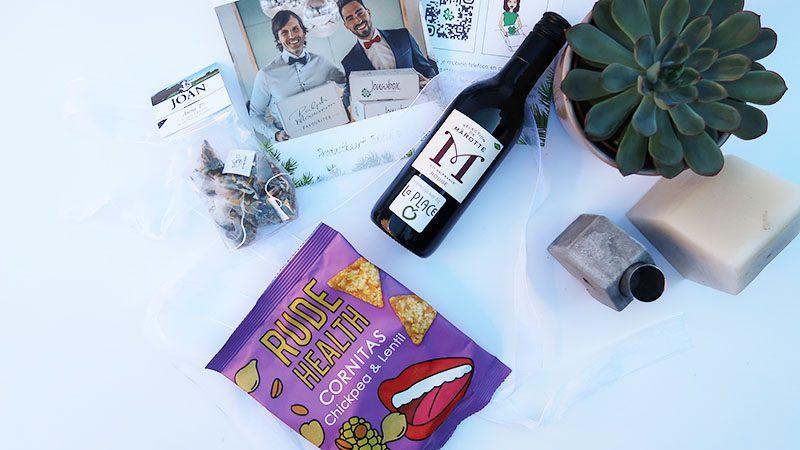 jouwbox feest-editie food drinks