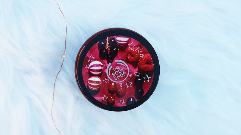 the body shop berry bonbon body scrub