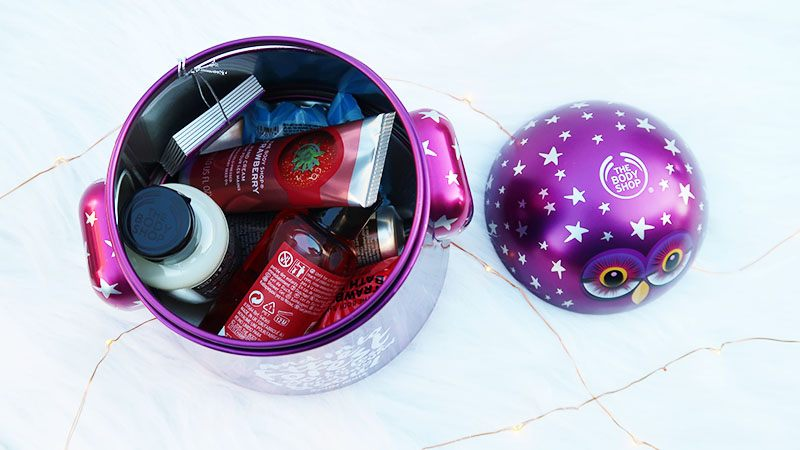 the body shop kerstcollectie Olivia the Owl