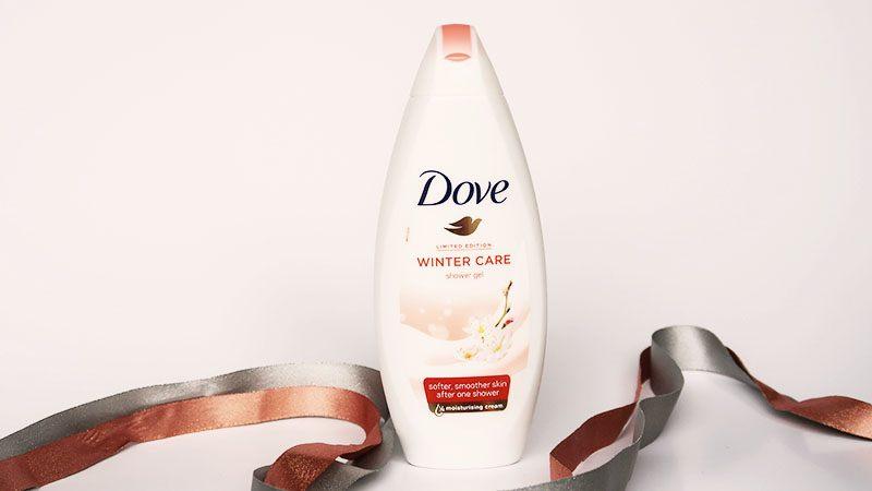 dove winter care limited edition douchecreme