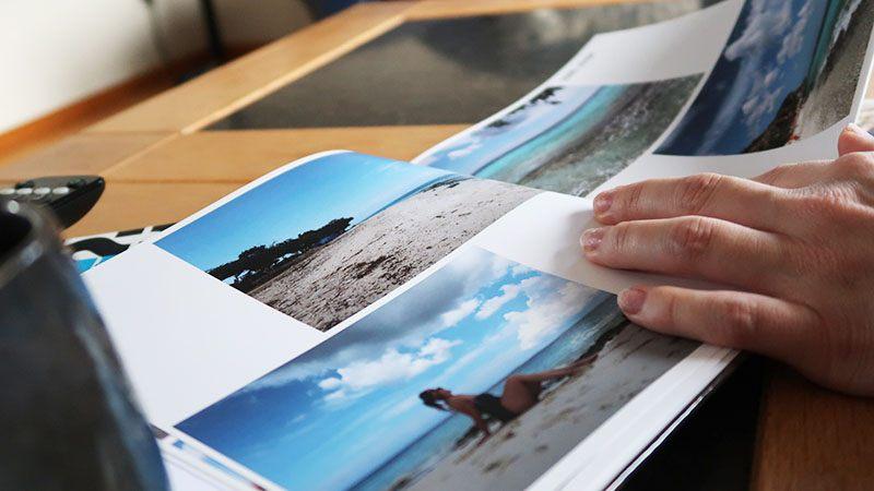 fotoboek maken met vakantiefotos fotoalbum