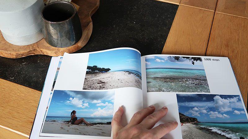 fotoboek maken met vakantiefotos