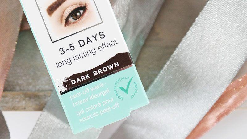 kruidvat brow tattoo dark brown