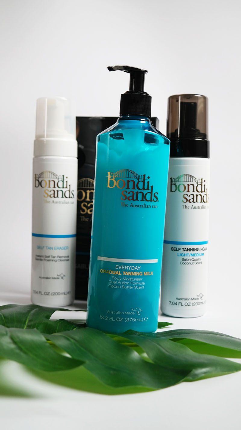 Bondi sands review zelfbruiner foam en olie